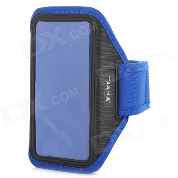 Color: Blue; Brand: YI-YI; Model: N/A; Material: PVC + Nylon; Quantity: 1 Piece; Shade Of Color: Blue; Compatible Models: Samsung Galaxy S5; Band Length: 27 cm; Other Features: Provides the best protection for your device; Great for running, climbing, exercising, riding etc; Packing List: 1 x Armband case; http://j.mp/1BtGvCz