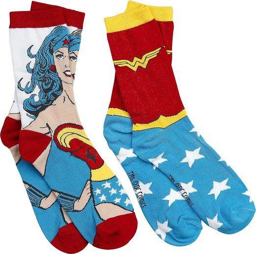 Wonder Woman Logo Socken allover