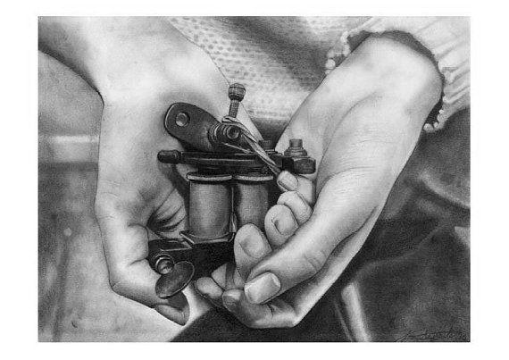 How do you hook up a tattoo gun