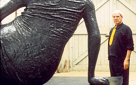 What drove Henry Moore to make some of the most famous sculptures of the 20th   century?