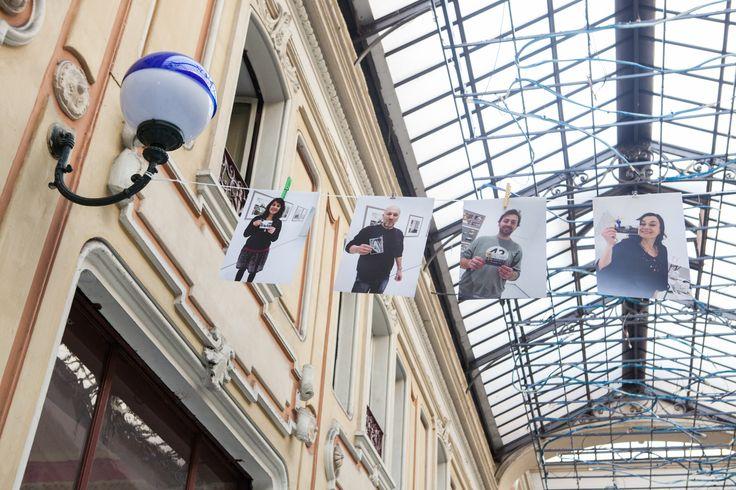 La mostra #Barrieraècasanostra Leggermente fuori sede. Foto di Stefano Guastella #AIC2015 #sconfinamenti
