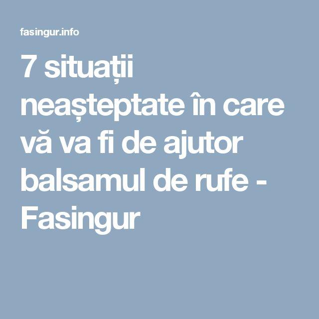 7 situații neașteptate în care vă va fi de ajutor balsamul de rufe - Fasingur