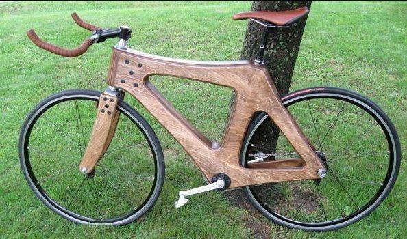 Beautiful timber bike
