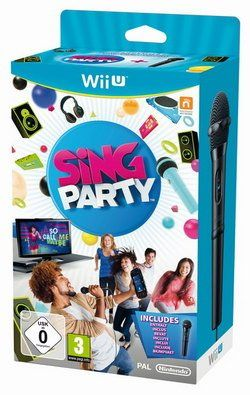 Sing Microphone Party Wii U