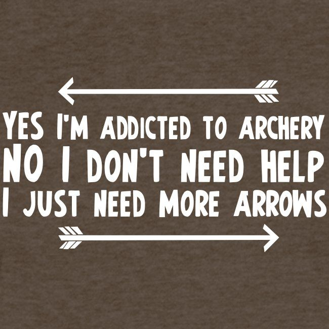 Addicted To Archery Fitted Cottonpoly T Shirt By Next Level Team Tsunami Archery Shirts Archery Archery Women