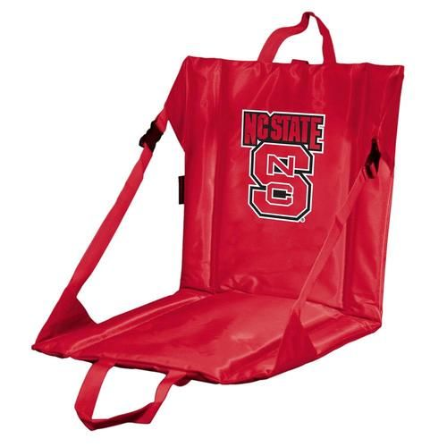 NCSU NC State Wolfpack Stadium Seat With Back