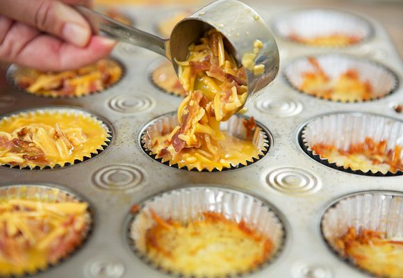 Savory Breakfast Cupcakes Recipe | Quick Dish Recipes
