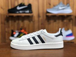 quality design 446e7 efc45 Advanced Design Adidas Originals Campus Core White Core Black Core White  CQ2070 Women s Men s