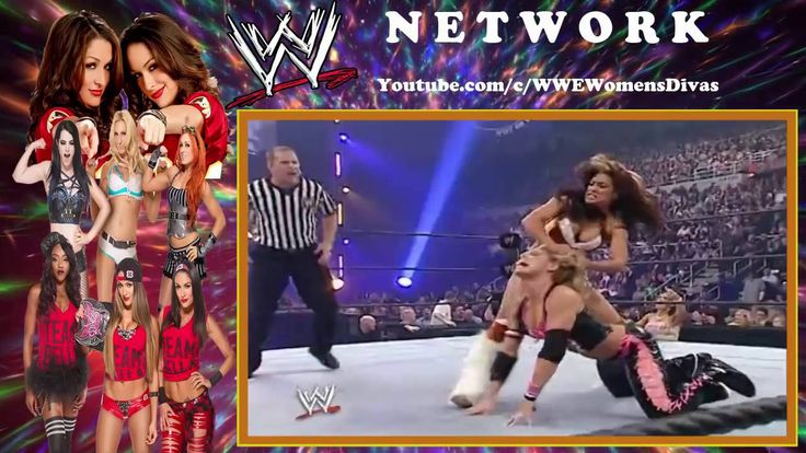 WOMEN'S CHANNELWWE Survivor Series 2005   Melina Perez vs  Trish Stratus