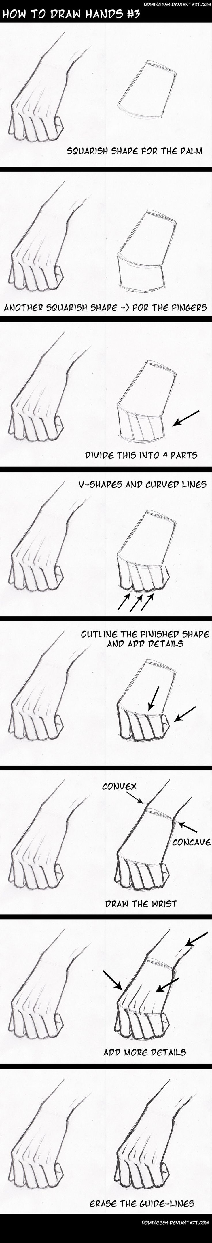 Best 25+ How To Draw Hands Ideas On Pinterest  Drawing Guide, Photoshop  Tutorials Tumblr And How To Draw Faces