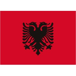 Albania Flag #albanian #nationality