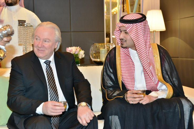 Graham Cooke, Chairman of World Luxury Group and HH Prince Mohammad bin Abdulrahman bin Abdullah Al Faisal