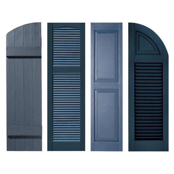 Exterior shutter shopping for your home can be a difficult - Different styles of exterior shutters ...