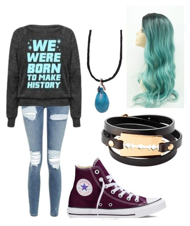 """Day with Friends"" by evestarr on Polyvore featuring Topshop, Converse and McQ by Alexander McQueen"
