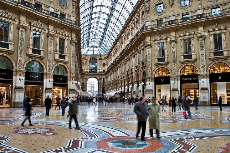 Galerías de Vittorio Emanuele de Milán, en el blog del Pasaje del Ciclón