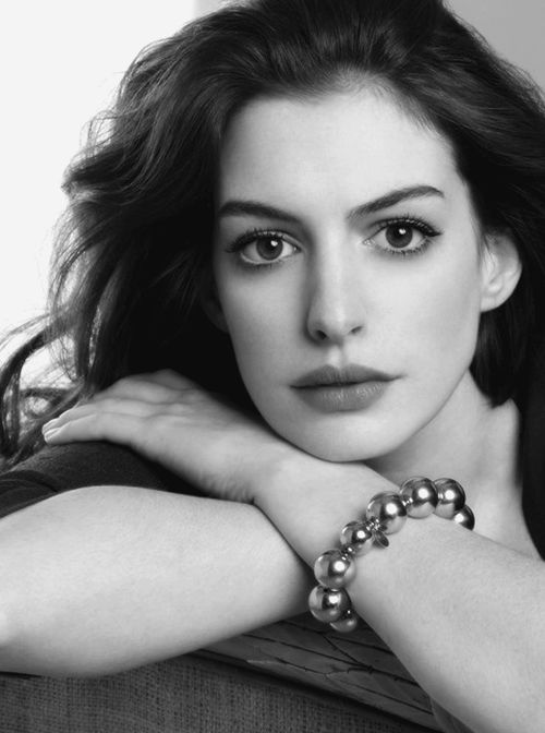 Anne Hathaway I love the roles she does she's a great actress