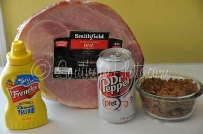Once you've had Dr. Pepper ham you'll never go back. (Not using diet dr. pepper, regular for sure!!)