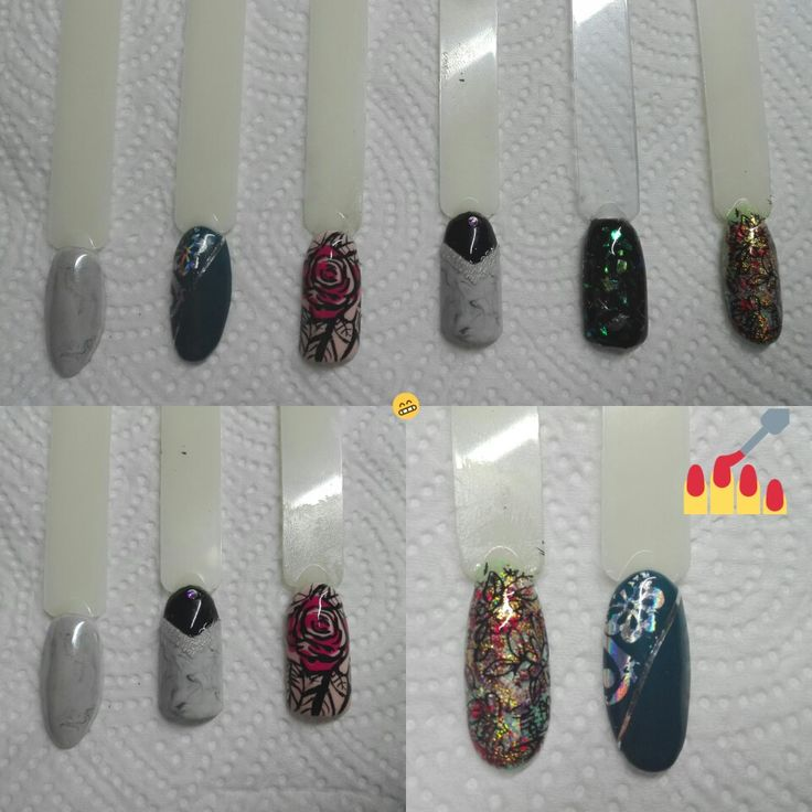 Nails design transferfoil