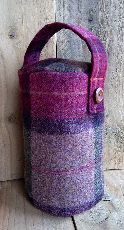 Doorstop wool by Belle & Thistle