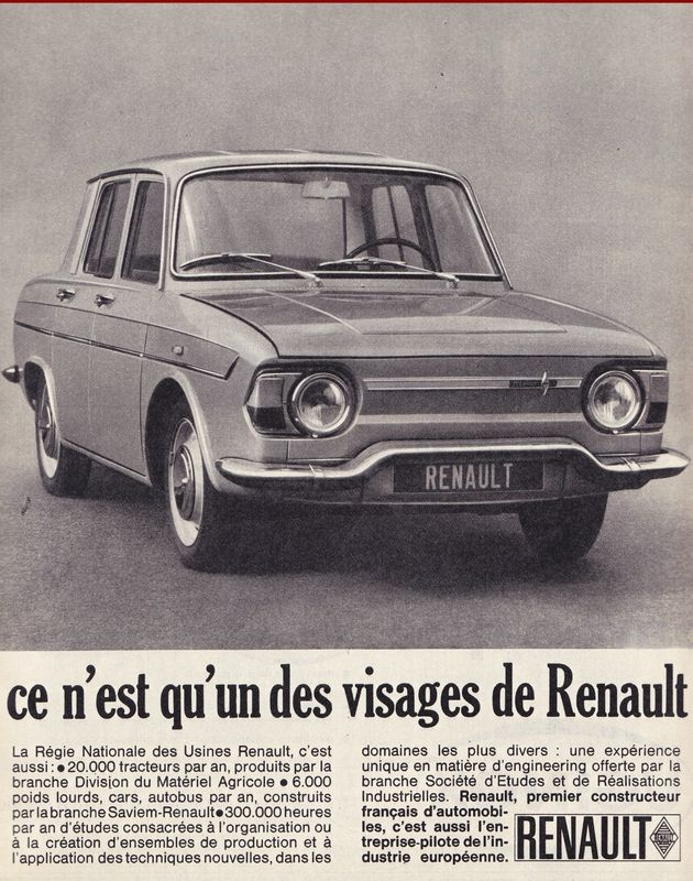 RENAULT R10 Major