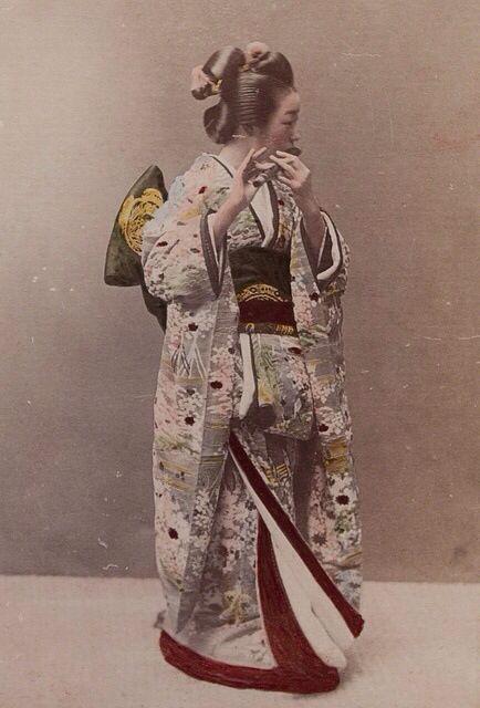 Geisha Playing A Flute Artist: Kusakabe Kimbei Artist Bio: Japanese, 1841 - 1934 Creation Date: c. 1890s