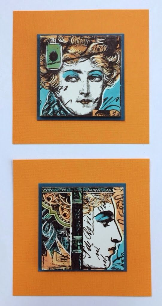 PaperArtsy: NEW PaperArtsy {2014} Products: Lynne Perrella Collection. These stamps are beautiful...