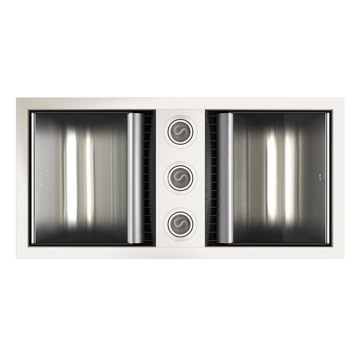 IXL 3 in 1 Neo White Bathroom Fan Heater With Dual Light. 27 best Home Ideas   Bathroom images on Pinterest