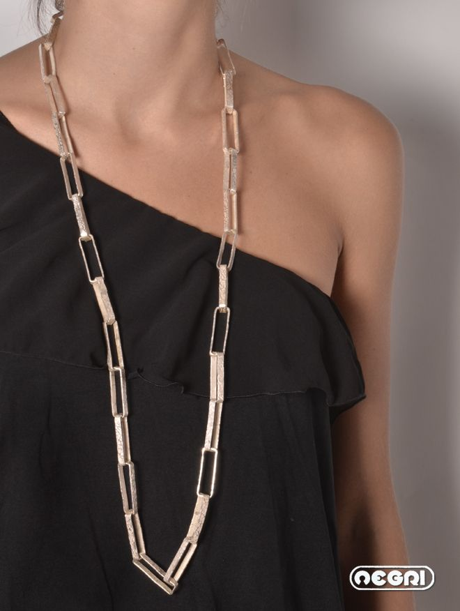 handmade Silver chain. www.titonegri.it