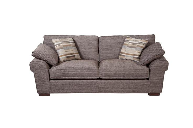 Sophia 3 Seater Standard Back Fabric Sofa ScS LOUNGE
