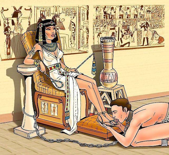 госпожа клеопатра порно - 3