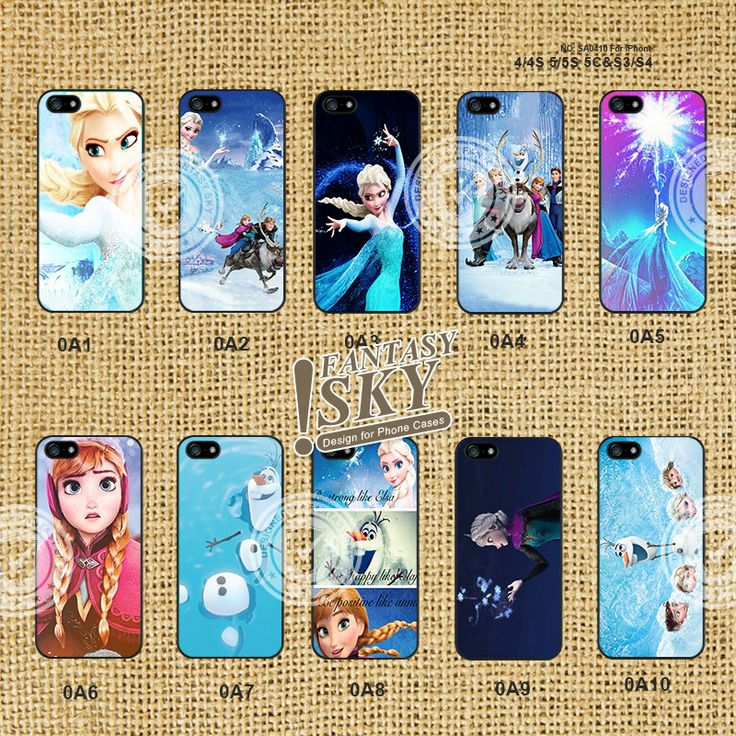 Disney Frozen Elsa and Anna iPhone5s Case iPhone 4 by FantasySky, $6.99. OH MY GOSH I WANT ONE!!