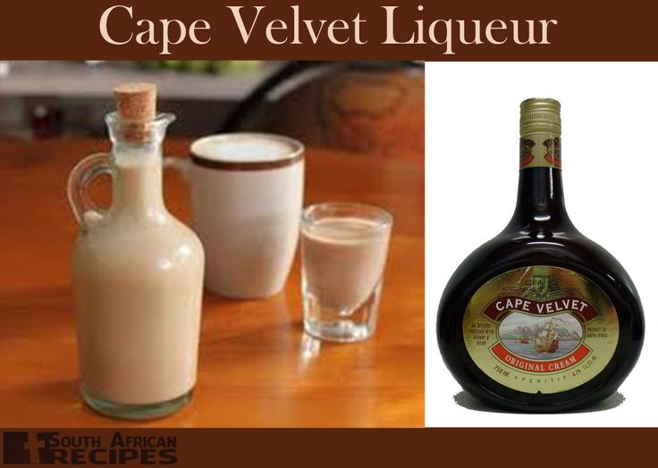 South African Recipes | Cape Velvet Liqueur