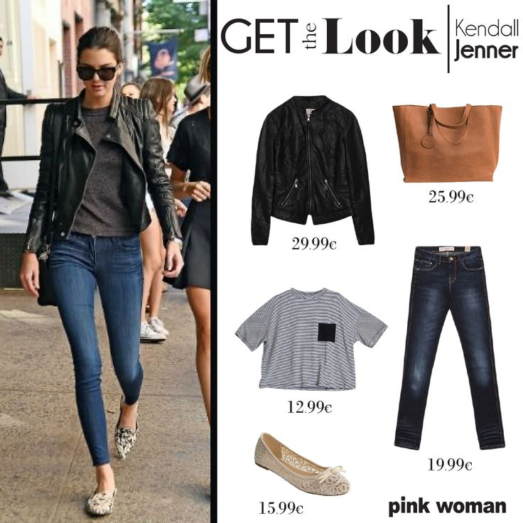 Shop the look of Kendall Jenner at Pink Woman! Click here: http://ow.ly/LGAVy