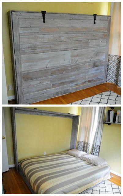 casa de fifia blog de decoração : cama retrátil de parede faça você mesmo