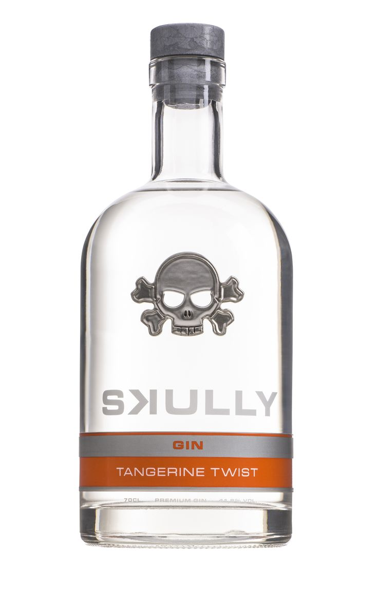 Skully Gin Tangerine Twist, #gin #Gintonic #spirits #drinks