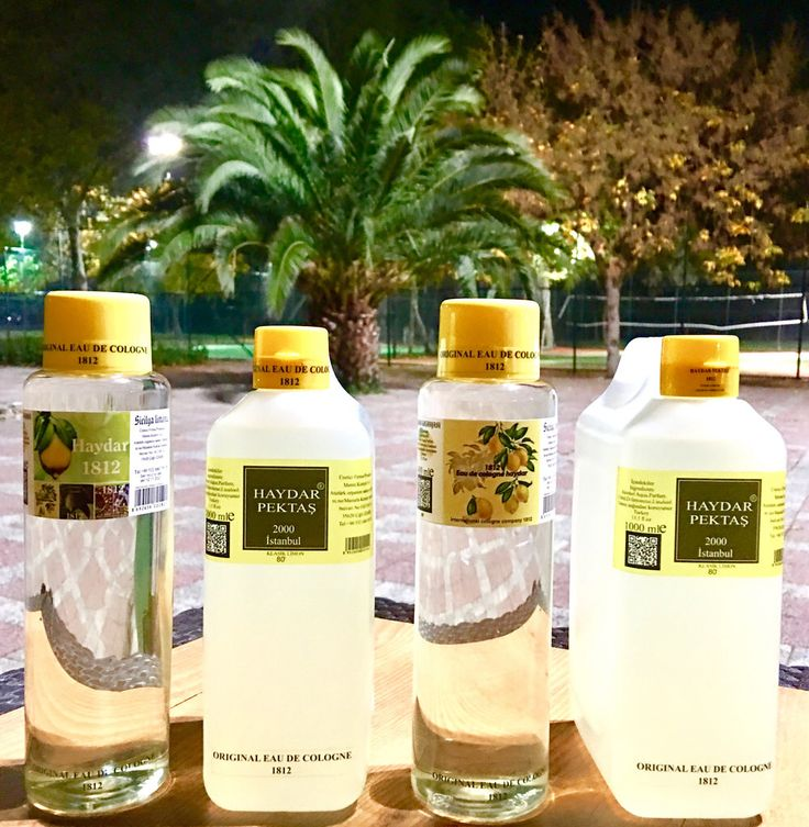 International Cologne company 1812 haydar original eau de cologne