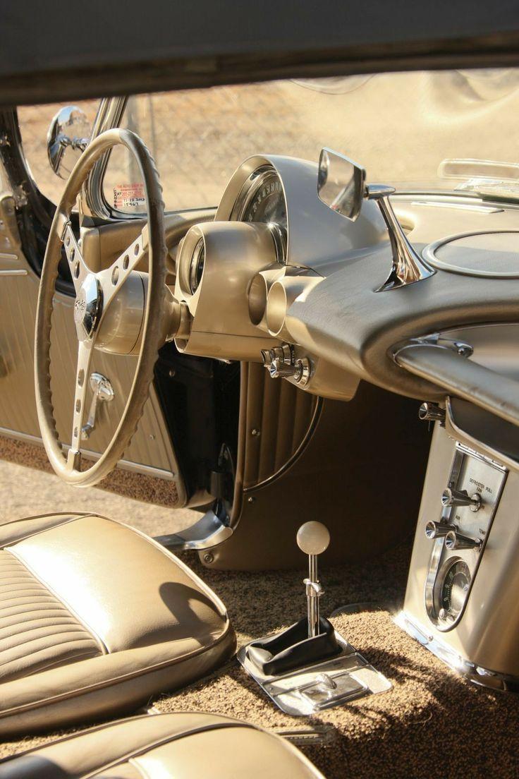 1961 chevrolet corvette interior fawn beige