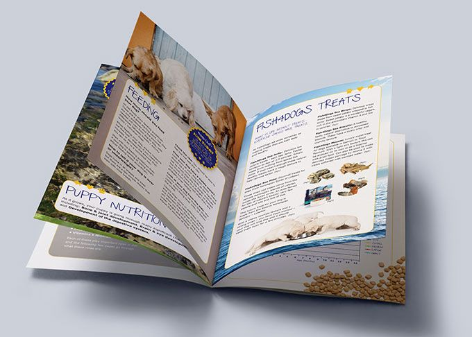 Fish4Dogs Puppy Booklet By Method Design