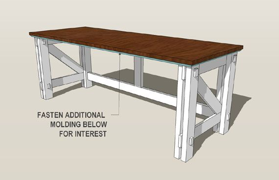 DIY: Computer desk tutorial step 10 (beautiful after pictures)