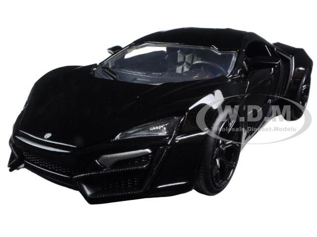 diecastmodelswholesale - Lykan Hypersport Glossy Black 1/24 Diecast Model Cars by Jada, $15.99 (http://www.diecastmodelswholesale.com/lykan-hypersport-glossy-black-1-24-diecast-model-cars-by-jada/)