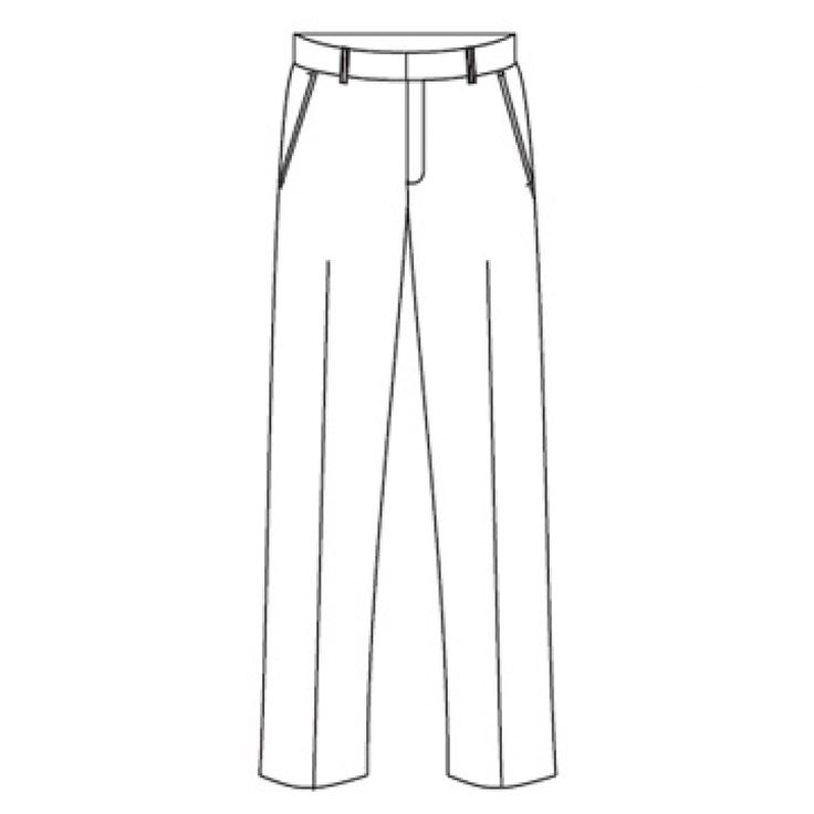 gray anatomy scrub patterns for sewing | MT6 Men's Flat Front Trouser | Work in Style