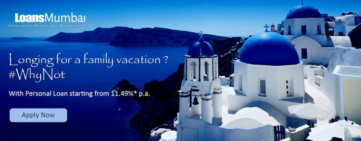 Longing for a family vacation ? #WhyNot  With personal loan starting from 11.49%* p.a.  Dial +91 73030 22000