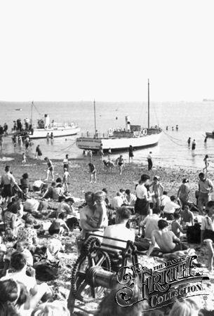 The Beach c1945, Southend-On-Sea