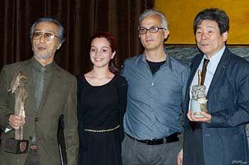 I Maestri Isao Takahata e Yoichi kotabe...