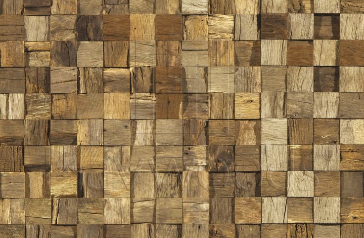 HRC1930 Reclaimed Oak Mosaic Cladding Interlocking System Genuine Reclaimed Engineered Cladding