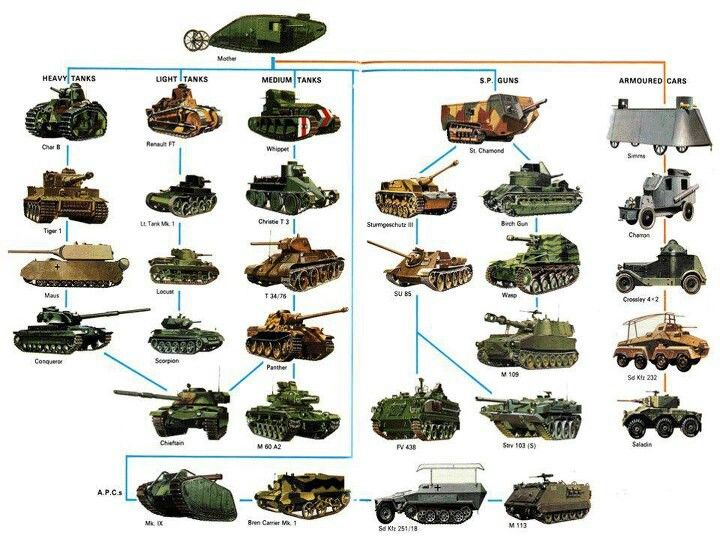 Evolution in Tanks