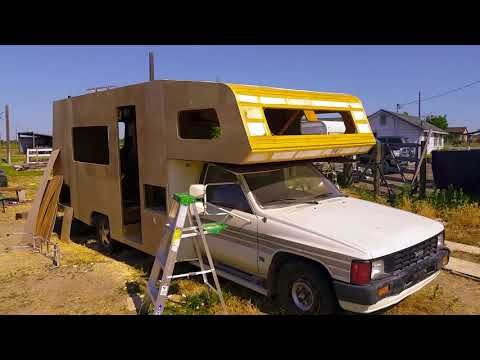 1986 Toyota Motorhome Complete Remodel Part 1 Youtube Toyota Motorhome Recreational Vehicles Motorhome Remodel