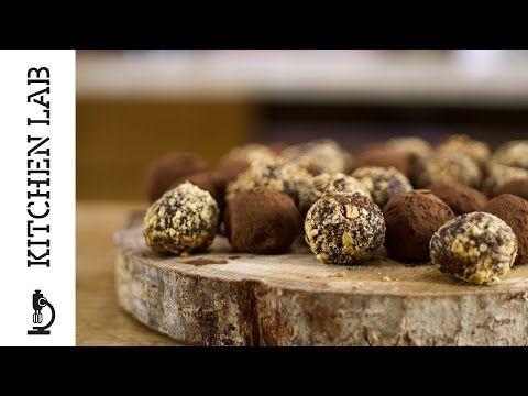 Τρούφες σοκολάτας | Άκης Πετρετζίκης