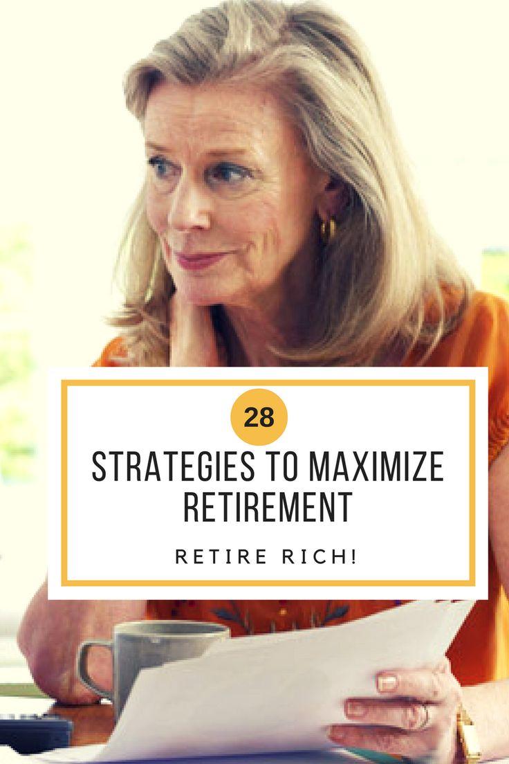 Strategies to Maximize Retirement