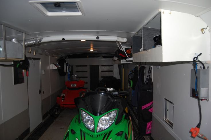 1000 Images About Enclosed Trailer Interiors On Pinterest